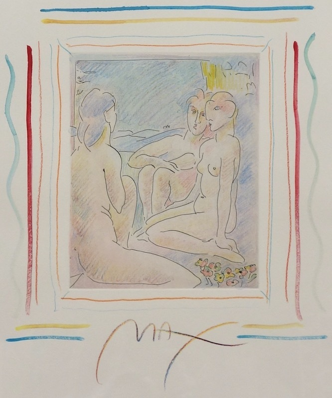 Peter MAX - Print-Multiple - Homage to Picasso Vol I, #II