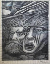 David Alfaro SIQUEIROS - Stampa Multiplo - Death to the Invader | Muerte Al Invasor