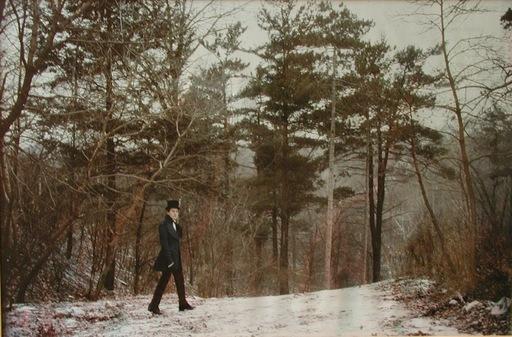 Luigi ONTANI - Fotografia - Gentiluomo nella foresta
