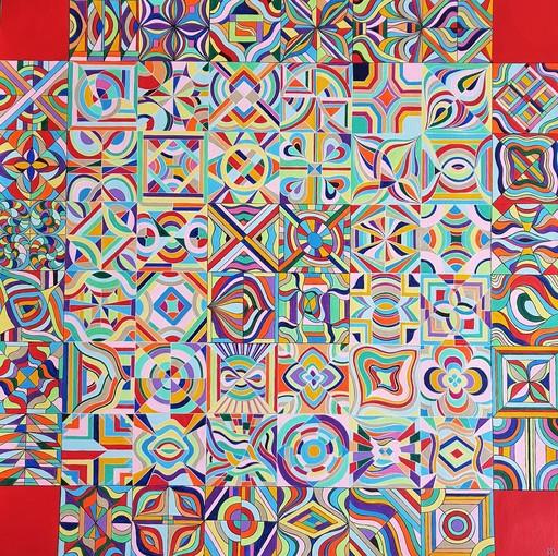 Monique BERTINA - Peinture - Patchwork
