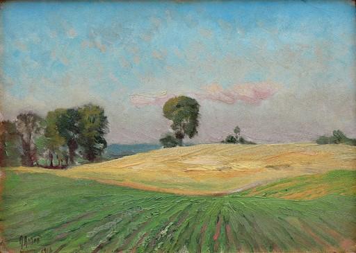 Mathias Joseph ALTEN - Pittura - Summer Fields