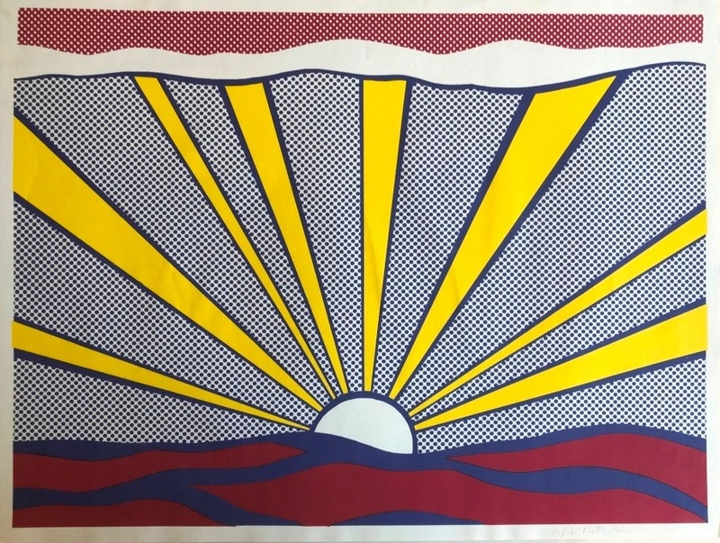 Roy LICHTENSTEIN - Grabado - Sunrise
