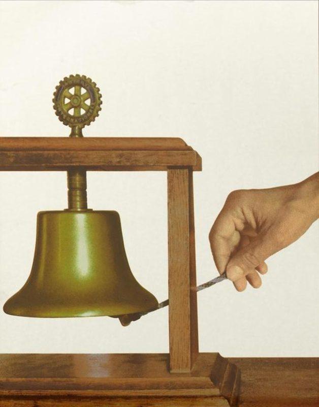 Michelangelo PISTOLETTO - Estampe-Multiple - La campana della solidarietà