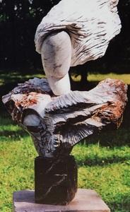 Iris VARGAS - Escultura - L'envolée