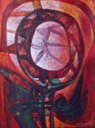 Raul Enmanuel POZO - Pintura - La figura espiritu