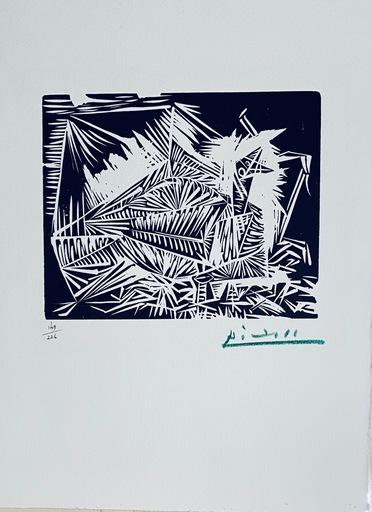 Pablo PICASSO - Grabado - Pigeonneau, from 40 Dessins de Picasso en Marge du Buffon