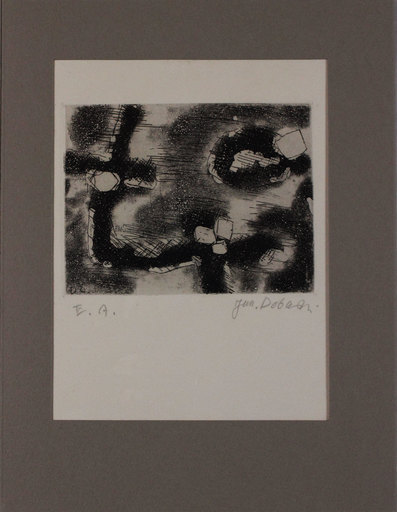 Jun DOBASHI - Grabado - Senza titolo da 'Avanguardia internazionale', vol. 4