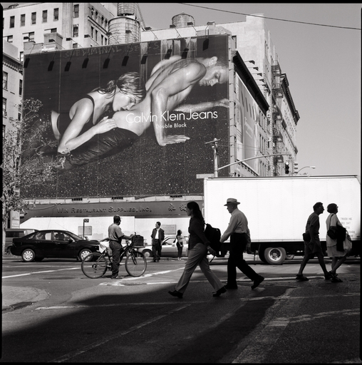 Wouter DERUYTTER - Fotografia - Houston and Lafayette Streets (CK 06)