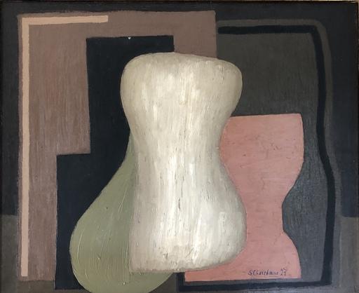 Serge CHARCHOUNE - Painting - Composition