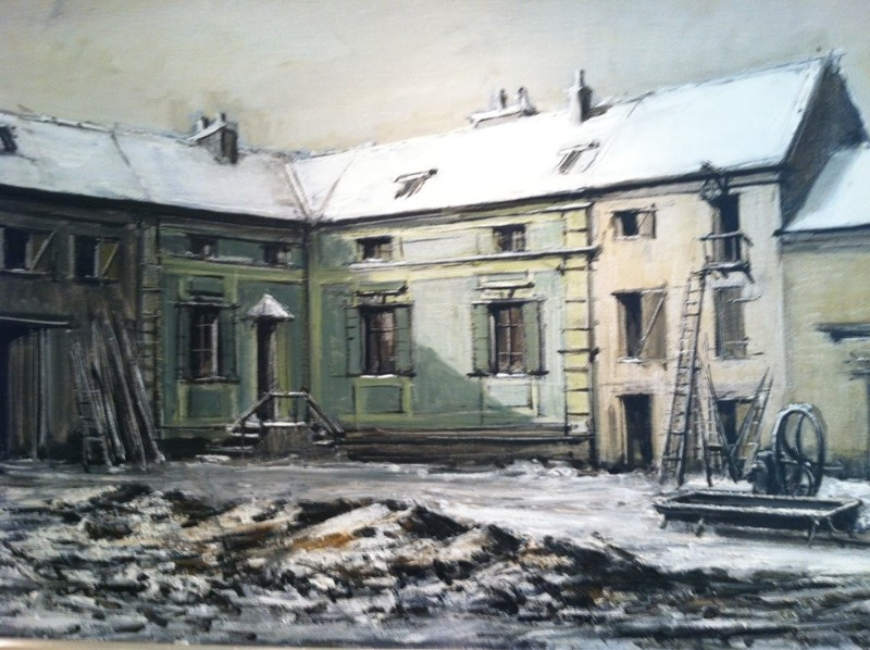 Bernard BUFFET - Painting - Bricy
