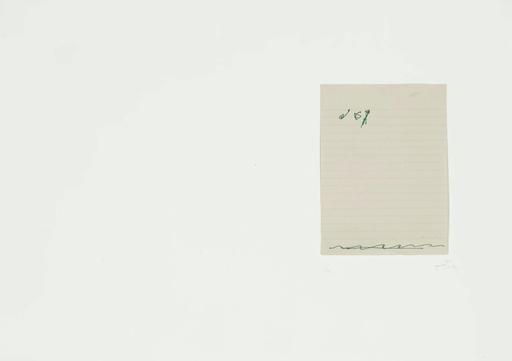 Antoni TAPIES - Print-Multiple - El Pa A La Barca 2