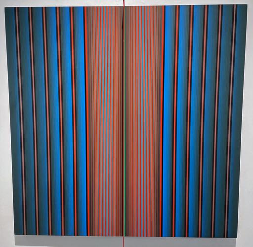 Dario PEREZ FLORES - Gemälde - Prochromatique n°1122