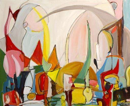 Monique ROLLINS - Gemälde - Urban Jungle