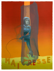 Allen JONES - Estampe-Multiple - Maitresse Folio Screenprint IV