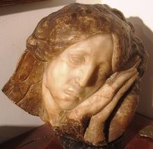 Gleb W. DERUJINSKY - Escultura - Our Lady of Sorrows, Angel of Sorrow (Mater Dolorosa)