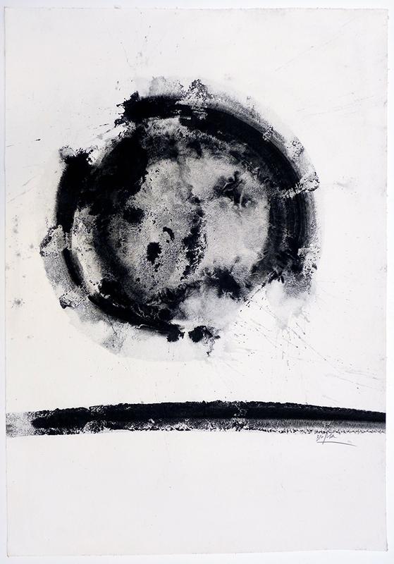 Enrique BROGLIA - Drawing-Watercolor - Sin título