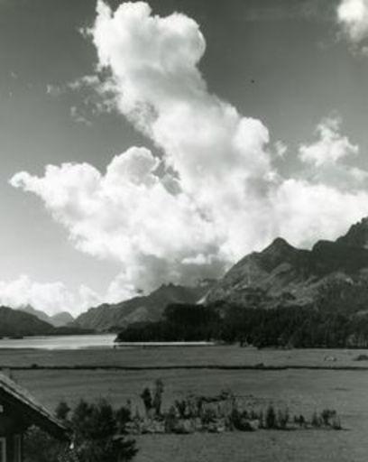 Emil MEERKÄMPER - Photography - Sommerwolken über den Silser-See. Oberengadin.