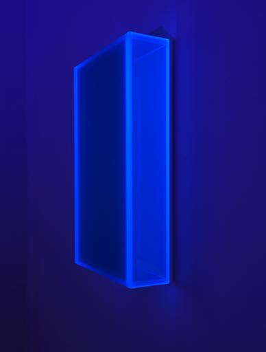 Regine SCHUMANN - Skulptur Volumen - Color satin glow after turkis
