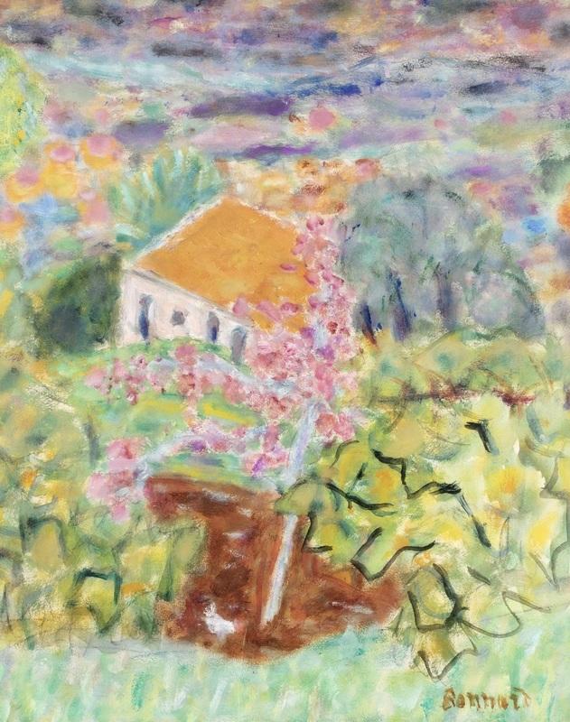 Pierre BONNARD - Gemälde - Maison du peintre au Cannet