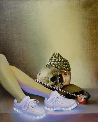 Anna SELINA - Pittura - Memento Vivere