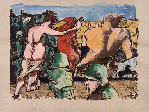 Markus LÜPERTZ - Pintura - Angriff der Avantgarde