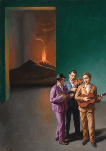 Stefano DI STASIO - Painting - Canzone