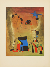 Joan MIRO - Print-Multiple - Le Chien Bleu