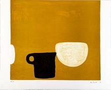 William SCOTT - Estampe-Multiple - Untitled  - Rothko Memorial Portfolio