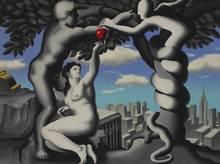 Mark KOSTABI - Grabado - The big apple