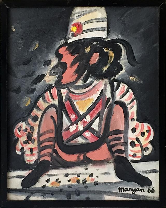 MARYAN - Painting - Figure