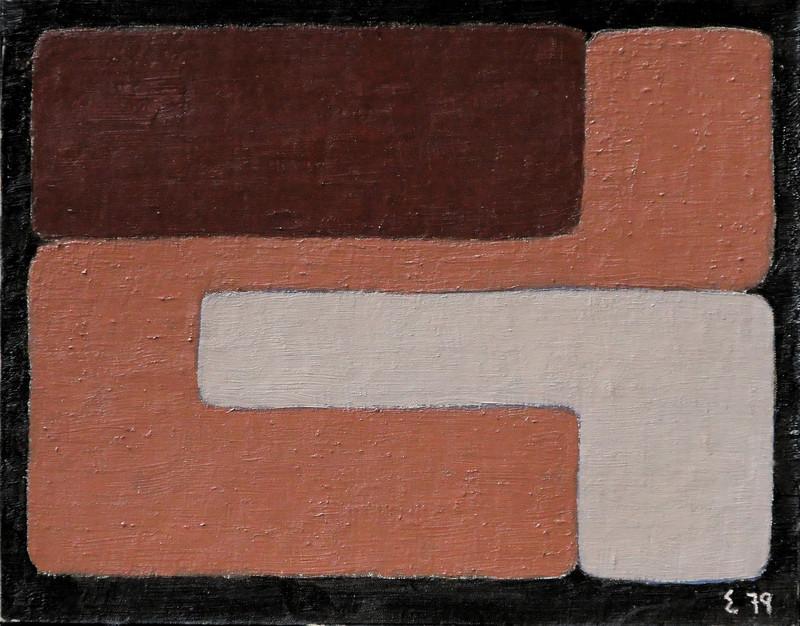 Elie BORGRAVE - Painting - sans titre