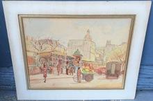 John Stanton WARD - Drawing-Watercolor