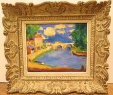 Charles KVAPIL - Painting - Paysage