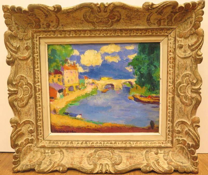 Charles KVAPIL - Pintura - Paysage