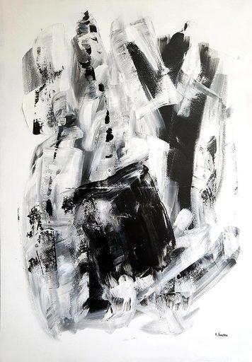 Patrick JOOSTEN - Peinture - Black and White