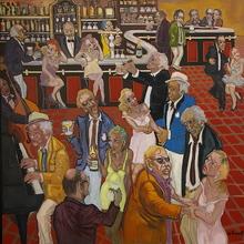 William FENECH - Peinture - Chez Pédro