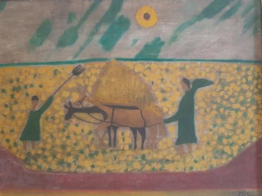 Moulay Ahmed DRISSI - Pintura - Sans titre