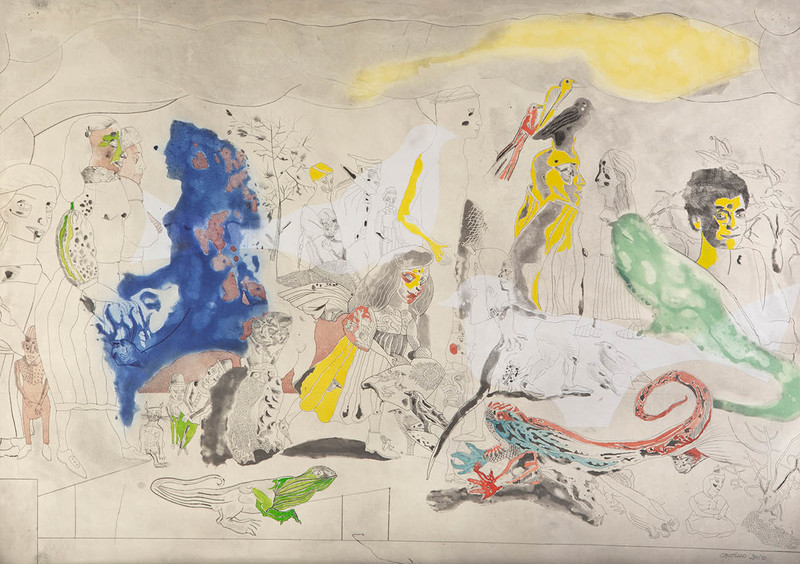 Jorge CASTILLO - Print-Multiple - Composición