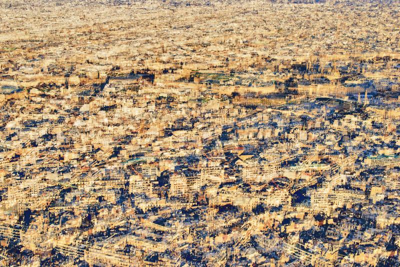 AKKADIA - Stampa-Multiplo - Paris from Above / Paris Series