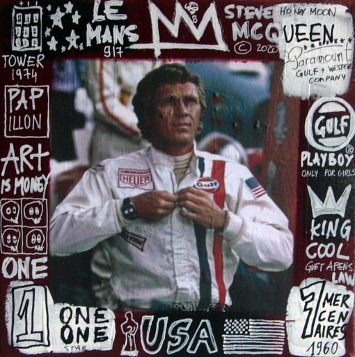 SPACO - Painting - steve Mcqueen only for girls