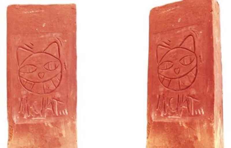 MONSIEUR CHAT - Ceramic - BRIQUE