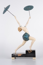 Johann Philipp PREISS - Sculpture-Volume - Parasol Dancer