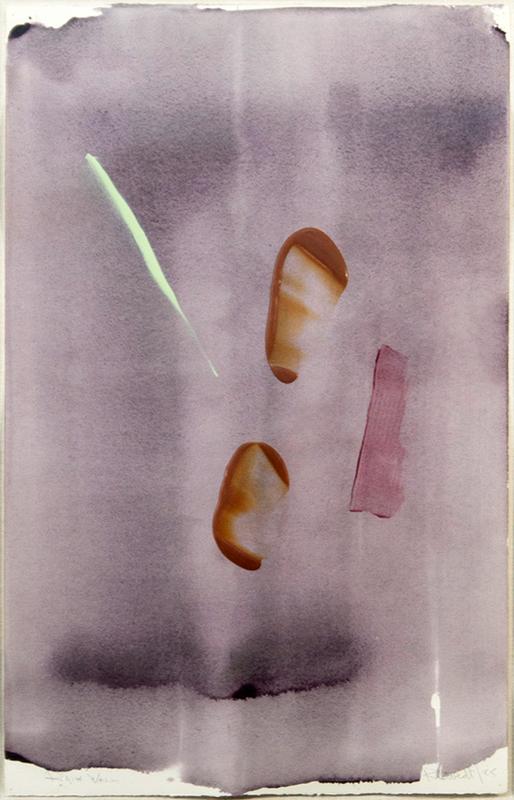 Milly RISTVEDT - Peinture - Rain Wall