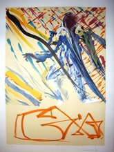 Salvador DALI (1904-1989) - THE DIVINE WORD. LA JUNGLE HUMAINE. LES VITRAUX