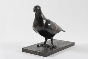 Gaston Etienne LE BOURGEOIS - Sculpture-Volume - Pigeon