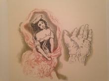 Giorgio DE CHIRICO - Stampa Multiplo - Composizione romantica