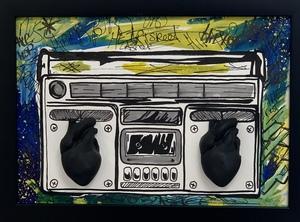 COBO - Pittura - Ghetto Blaster