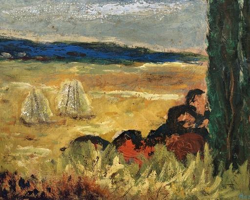 Homero PANAGIOTOPULOS - Peinture - Paysage