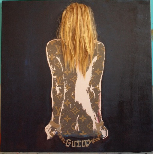 Dominique FURY - Painting - Guilty
