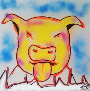 Mounya KECHA - Dibujo Acuarela - No Title    (Cat N° 6354)